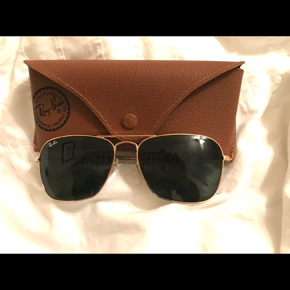7022d0ec124f0 reduced ray ban aviator polarized gold frame brown lens 867f4 a620d  usa ray  ban rayban gold aviator sunglasses 065e0 45ab5